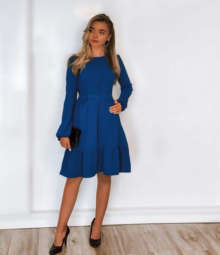 """Suknelė """"Akimirka"""", Monaco Blue"""