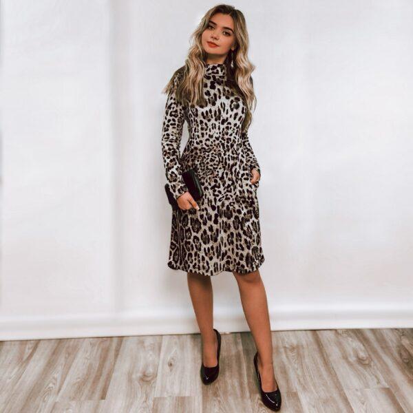 """Suknelė """"Leopardinė"""""""