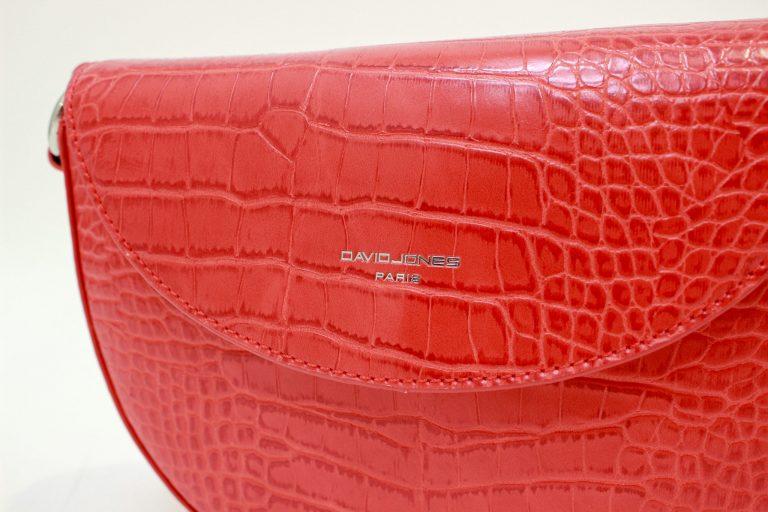 """Dirbtinės odos rankinė """"Mysterious"""", raudona"""