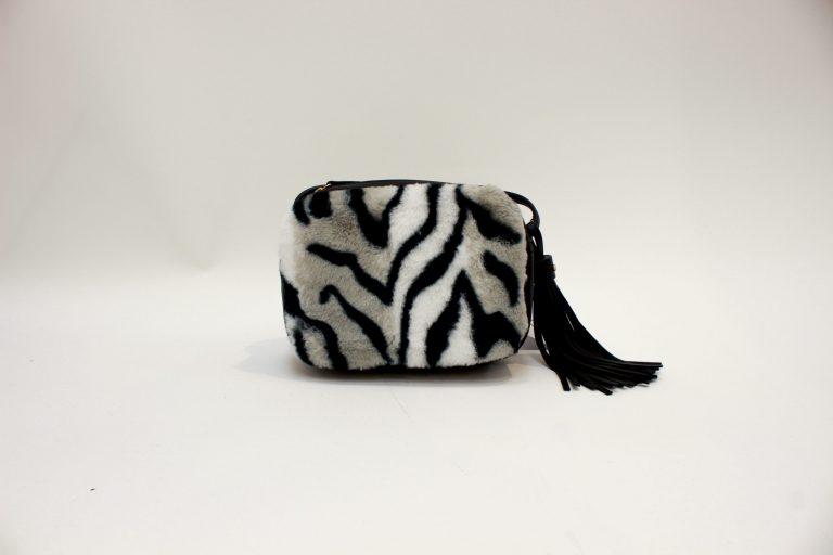 """Dirbtinės odos rankinė """"Zebra"""""""