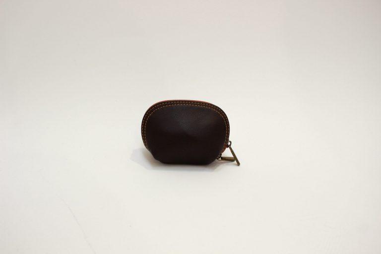 """Natūralios odos piniginė """"Mini"""", juoda"""