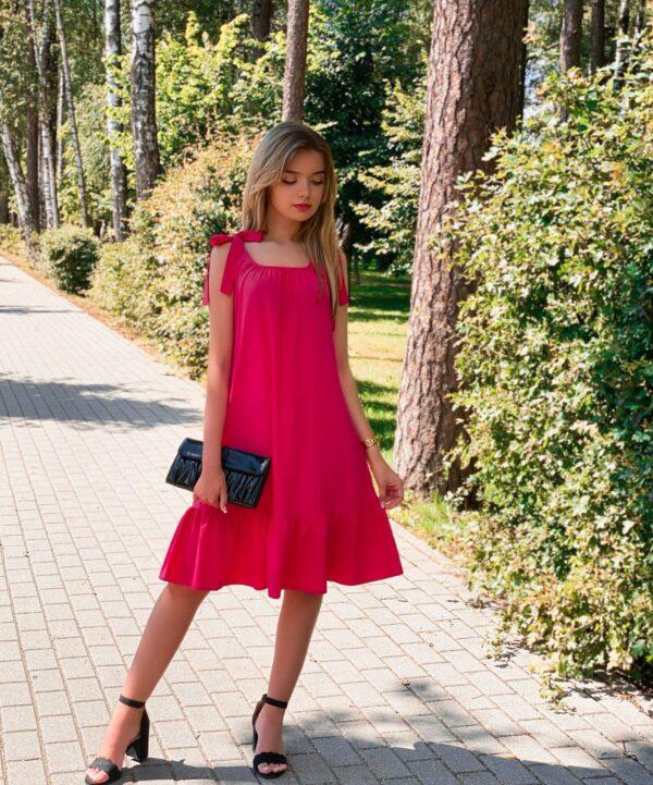 """Suknelė """"Vakaro žvaigždė"""", rožinė"""