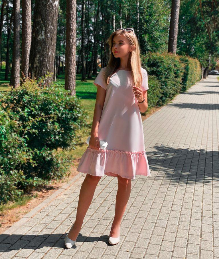 """Suknelė """"Weekend"""", rožinė"""