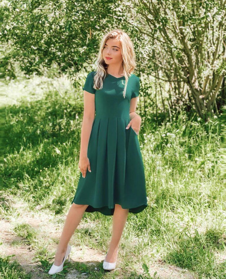 "Suknelė ""Summer Breeze"", žalia"