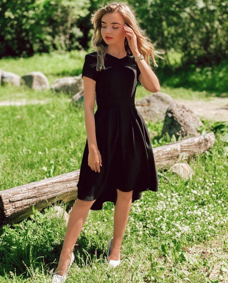 "Suknelė ""Summer Breeze"", juoda"