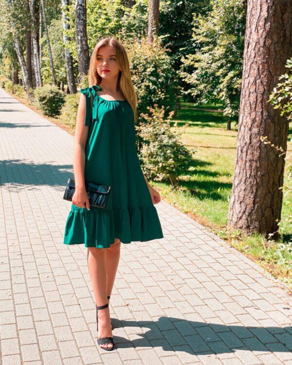 """Suknelė """"Vakaro žvaigždė"""", žalia"""